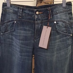 NWT Made in Italy Wide Leg Jeans